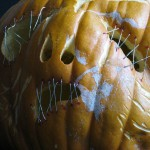 Mr. Spooky Jack O'Lantern up close and personal, Halloween 2010.