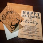 Hello Lucky Halloween card.