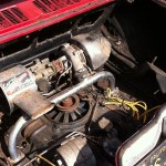 '65 Corvair Monza Engine Compartment