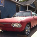 '65 Corvair Monza - this is what headlights should look like.
