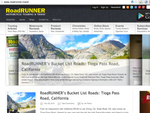 Roadrunner Magazine stole my pictures!